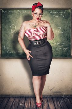 """""""I can teach YOU a few things about curvy women""""    Oh, I'm sure you can!"""