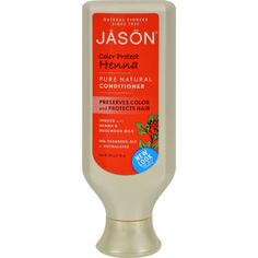 Jason Pure Natural Conditioner Color Protect Henna Description: Preserves Color and Protects Hair Imbued with Henna and Rosewood Oils No Parabens, SLS or Phthal