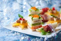 50 festive party ideas to feast on Christmas - Cuisine - Nutella, Curry Sauce, Food Containers, Canapes, High Tea, Finger Foods, New Recipes, Sushi, Recipes