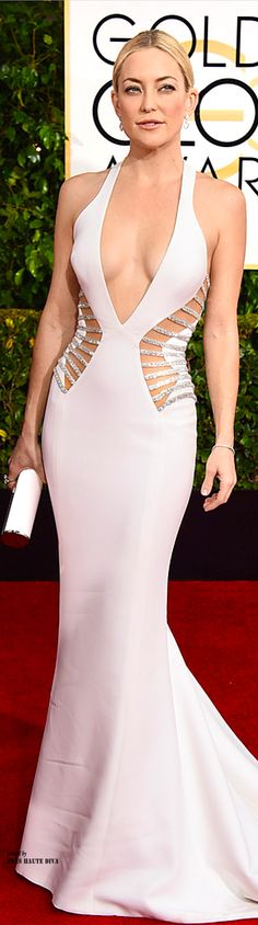 Kate Hudson in Versace - Golden Globe Awards 2015 ♔THD♔