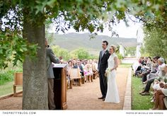 Lovely outdoor ceremony | Photography: Michelle van Heerden Photography, Venue: South Hill
