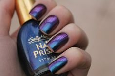 Sally Hansen Nail Prisms Garnet Lapis.  I love this polish so much. SO pretty!!  www.coewlesspolish.wordpress.com