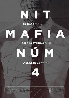 Dj Capo Mafia Nights N4 | Flickr: Intercambio de fotos / repinned on Toby Designs