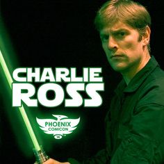 Phoenix Comicon 2014 is thrilled to announce that Charlie Ross will be performing his world-famous solo show, One Man Star Wars! He has performed over 1,200 times in more than 180 cities across four continents! Star Wars fan or not, you don't want to miss him!