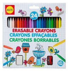 ALEX Toys 24 Erasable Crayons