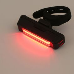USB Rechargeable Bike Lighting Bicycle Light Rear Back Safety Tail Lights Red Portable Accessories