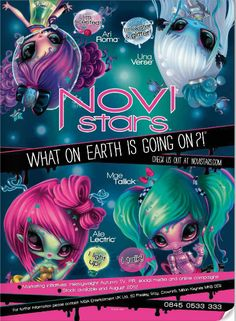 MGA Novi Stars dolls--Audrey asked for Aliens for Christmas. Now tell me how cool are these!!!!!!!!!!!!!