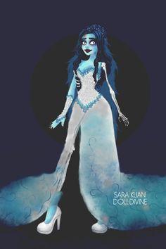Corpse Bride by starshipsally ~ Modern Fashion Dress Up Chic Dress, Dress Up, Fashion Dolls, Fashion Dresses, Doll Divine, Corpse Bride, Up Game, Doll Maker, Urban Chic
