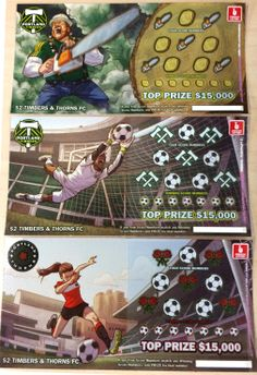Portland Timber and Portland Thorns Lottery Tickets,
