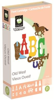 Cricut® Old West Cartridge Back to school theme