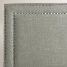 Linen Treyton Upholstered Headboard | World Market