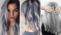 10.jpg (800×470) Black Ombre, Silver Ombre Short Hair, Gray Hair Color Ombre, Brown And Silver Hair, Grey Hair Foils, Grey Hair With Purple Highlights, Black And Grey Hair, Blue Gray Hair, Pastel Ombre Hair