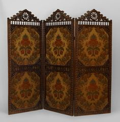 Folding Screen- for dressing behind. I would love one of these.