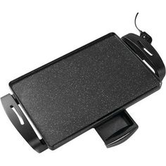 """Starfrit The Rock 14"""" x 12.5"""" Electric Non-Stick Griddle http://grillinglover.org/best-charcoal-grills/"""