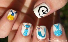 Disney Princess Nails  OOOOHHHH!!!!!!!!!!!