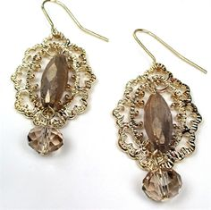 These Gold & Glass Crystal Dangle Earrings are just £7.25 in the P&B Sale! http://www.pearlandbutler.co.uk/470-p/gold-glass-crystal-dangle-earrings.aspx
