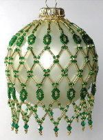 beaded ornament patterns free - Google Search
