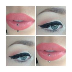 makeup eyes and lips ❤ liked on Polyvore featuring makeup