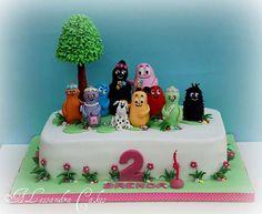 Torta Barbapapa n.12