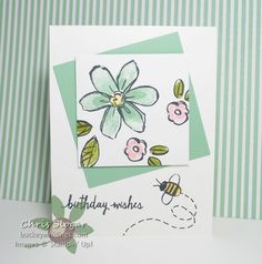 Garden in Bloom by Chris Slogar - Cards and Paper Crafts at Splitcoaststampers
