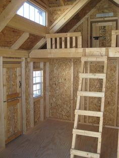 1000 ideas about shed playhouse on pinterest storage for How to make a playhouse out of wood