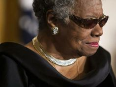 IN MEMORY OF MAYA ANGELOU celebrated poet, novelist and civil-right activist 4 April 1928 to 28 May 2014 aged 86. Her poem on Mandela's death: HIS DAY IS DONE. Her famous poem: STILL I RISE
