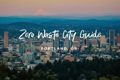 At long last, I've thoroughly updated the Ultimate Zero Waste Guide to Portland, OR. Check it out! You'll also find it at all times by clicking on the Zero Waste PDX shortcut in the menu on the left. I hope you'll find it useful! Sustainable City, Sustainable Living, Recycling Information, Eco City, State Of Oregon, Lokal, Green Life, Free Travel, Portland Oregon