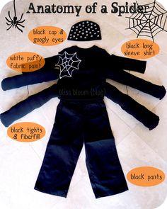 [Make] A Cute Spider Costume