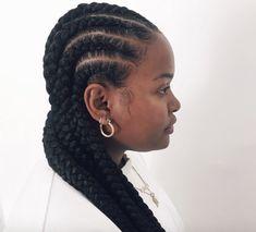 37 Goddess Braids Hairstyles Perfect for 2020 | Glamour Goddess Twist, Goddess Braids, Loose Ponytail, Curly Ponytail, Hair Twist Styles, Braid Styles, Braided Pony, Hair Cuffs, Fulani Braids