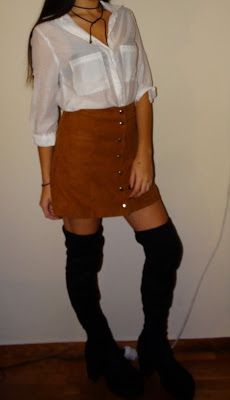Sisters In Fashion: A night outfit! I'm in love with these boots!