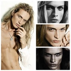 125 Danila Kovalev, Russia, model Beautiful Men Faces, Most Beautiful Eyes, Gorgeous Men, Beautiful People, Gothic Men, Gothic Models, Bedroom Eyes, Blonde Guys, Dream Hair