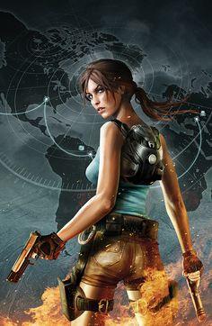 Lara Croft and the Frozen Omen #2 textless •Jean-Sébastien Rossbach