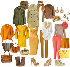 """True Autumn - spring wear"" by tunafiska on Polyvore"