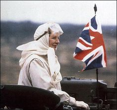 """""""Iron-lady with """"scary-scarf"""" - on the battlefield"""" (Did that sort of """"gamble"""" won next 11 years of power-? The Iron Lady, Margaret Thatcher, We The People, Online Art, Scary, Artist, Development Board, England, Woman"""