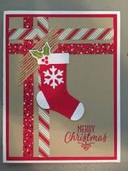 Stampin Up Christmas Cards 2017 - Christmas Lights Card . Simple Christmas Cards, Christmas Card Crafts, Homemade Christmas Cards, Christmas Greetings, Homemade Cards, Holiday Cards, Christmas Ideas, Scrapbook Christmas Cards, Winter Cards