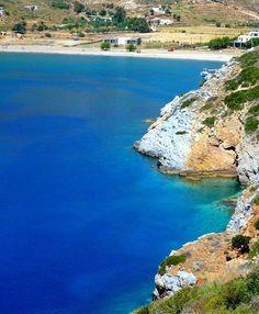 beach on Kea island, Crete Island, Greece Islands, Small Island, Greece Travel, Wonderful Places, Tuscany, Beaches, Travelling, Landscapes