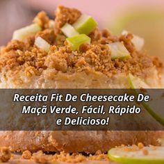 Bateu aquela vontade de comer um delicioso Cheesecake, mas você está de dieta e o tradicional é cheio de margarina e açúcar e agora? Simples Cheesecake Fit!