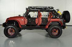 2014 Jeep Wrangler Unlimited SEMA Build Dallas, Texas | Starwood Motors