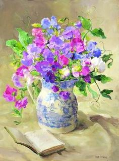 ''Sweet Peas'' by Anne Cotterill