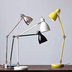 Industrial Task Table Lamp #WestElm - $69 - reading lamp for rocker
