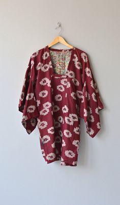 Ikat kimono jacket silk kimono blouse vintage by DearGolden