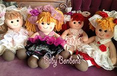 Baby bonbons would like to introduce you to our LOLLY BONBONS Personalize our new LOLLY BONBONS RAG DOLL NOW with your little girls name and message. Perfect for: This would be a perfect gift for Christmas for all of your little girls! .Flower Girl Thank you Gift .New born baby shower