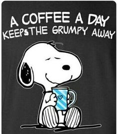 Love my coffee.I'm going to add this to my own snoopy handbag! Snoopy Frases, Snoopy Quotes, Peanuts Cartoon, Peanuts Snoopy, Snoopy Love, Snoopy And Woodstock, Charlie Brown Und Snoopy, Peanuts Quotes, Snoopy Pictures