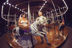Getting Married at The Nashville Zoo Has it Perks! THE CAROUSEL! FrozenExposurePhotography-RealWedding