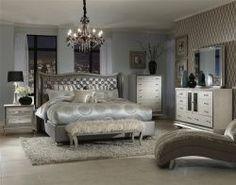 Hollywood Regency Style Bedroom Furniture