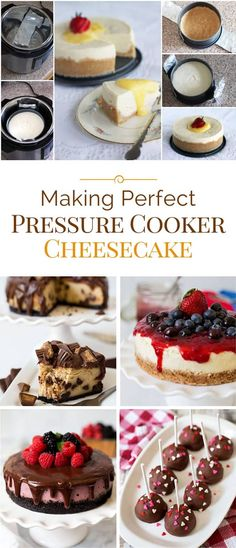 Making perfect pressure cooker cheesecake really is easy, but here are some key tips to help you.