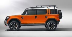 """Photochop [updated] - Land Rover """"DC120"""" Defender Concept ... 