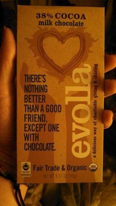 Organic chocolate bar gluten free gmo free