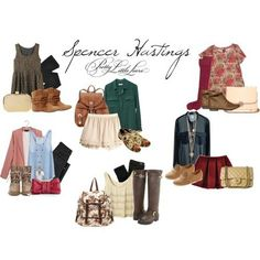 . Pretty Little Liars Mode, Pretty Little Liars Outfits, School Appropriate Outfits, High School Outfits, Adrette Outfits, Preppy Outfits, Spencer Hastings, Urban Chic, Fall Winter Outfits
