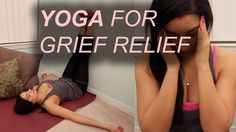 5 Yoga Poses for Grief Relief  #yoga